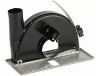Odsávací kryt - vodící saně s odsávacím hrdlem na řezání pro úhlovou brusky 150mm