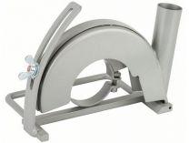 Odsávací kryt - vodící saně s odsávacím hrdlem na řezání pro úhlovou brusky 180mm