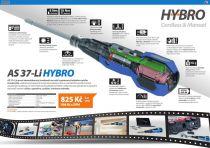 Přímý aku šroubovák Narex AS 37-Li HYBRO - 3.6V/0.85Ah Li-Ion, 4Nm, 0.162kg, napájecí kabel Micro USB (65404435)