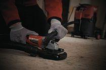 Bruska na beton s odsáváním Milwaukee AGV 12-125X DEG SET - 1550W, 125mm, 2.5kg, v kufru (4933448030)