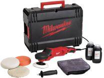 Úhlová leštička Milwaukee AP 14-2 200 E set - 200mm, 1450W, 2.3kg, regulace, kufr