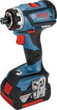 Bezuhlíková aku vrtačka bez příklepu Bosch GSR 18V-60 FC FLEX Professional - 2x aku 18V/5Ah, 60Nm, v kufru (06019G7101) Bosch Professional