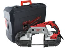 Milwaukee BS 125 - 1100W, 125mm, 6.5kg, kufr, pásová pila