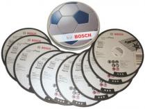 Řezné kotouče Bosch Standard for Inox 115mm/1,0 na železo, kov a nerez - 10ks, v plechovém boxu