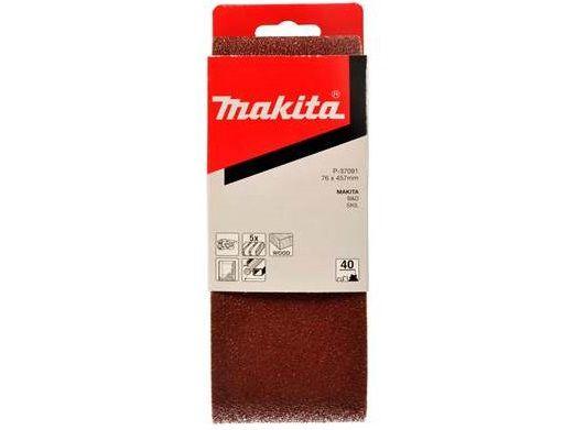 Brusný pás Makita P-37150 - 76x457mm, zrnitost K240, 5ks