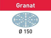 Brusný kotouč StickFix Festool STF D150/48 P120 GR/10 Granat - 150mm, zrnitost P120, 10ks