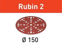 Brusný kotouč StickFix Festool STF D150/48 P80 RU2/10 Rubin 2 - 150mm, zrnitost P80, 10ks