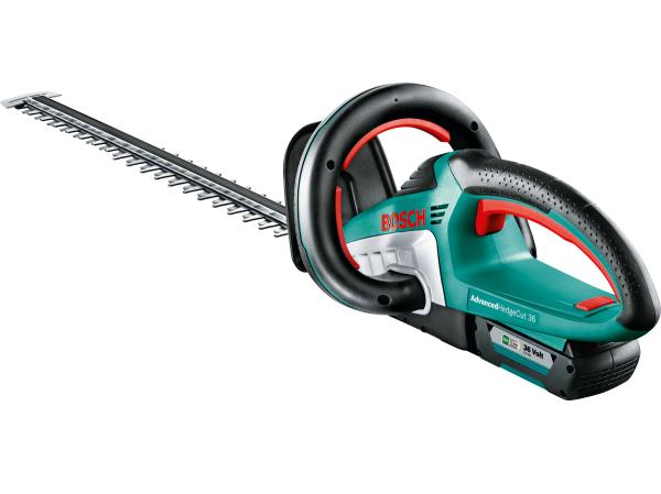 Aku nůžky na živý plot - aku plotostřih Bosch AdvancedHedgeCut 36 - 1x aku 36V/2.0Ah, 3.6kg (060084A105) Bosch HOBBY