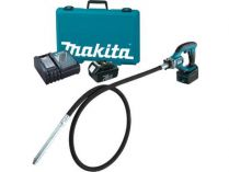 Makita DVR450RTE aku zhutňovač betonu - 2x 18V/5.0Ah, 3.5kg, kufr