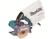 Makita 4100KB - 1400W, 125mm, 3kg, diamantová řezačka s odsáváním