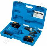 Aku vrtačka bez příklepu Narex ASV 14-2A - 2x aku 14.4V/2.0h, 54Nm, 1.6kg, v kufru + DÁREK Aku svítilna Narex FL LED 10 M (65405071)