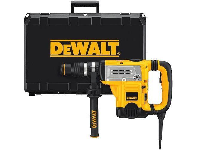 DeWALT D25604K-QS vrtací a sekací kladivo SDS-Max - 1250W, 2-8J, 6.9kg, AVC, CTC, kufr
