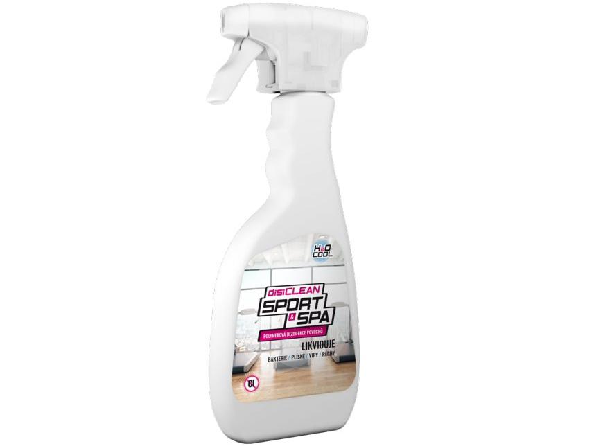 Polymerová dezinfekce isiCLEAN SPORT & SPA Spray 0,5 l na čištění mobilních vířivek, sauny a infrasuny (174011) SILCO