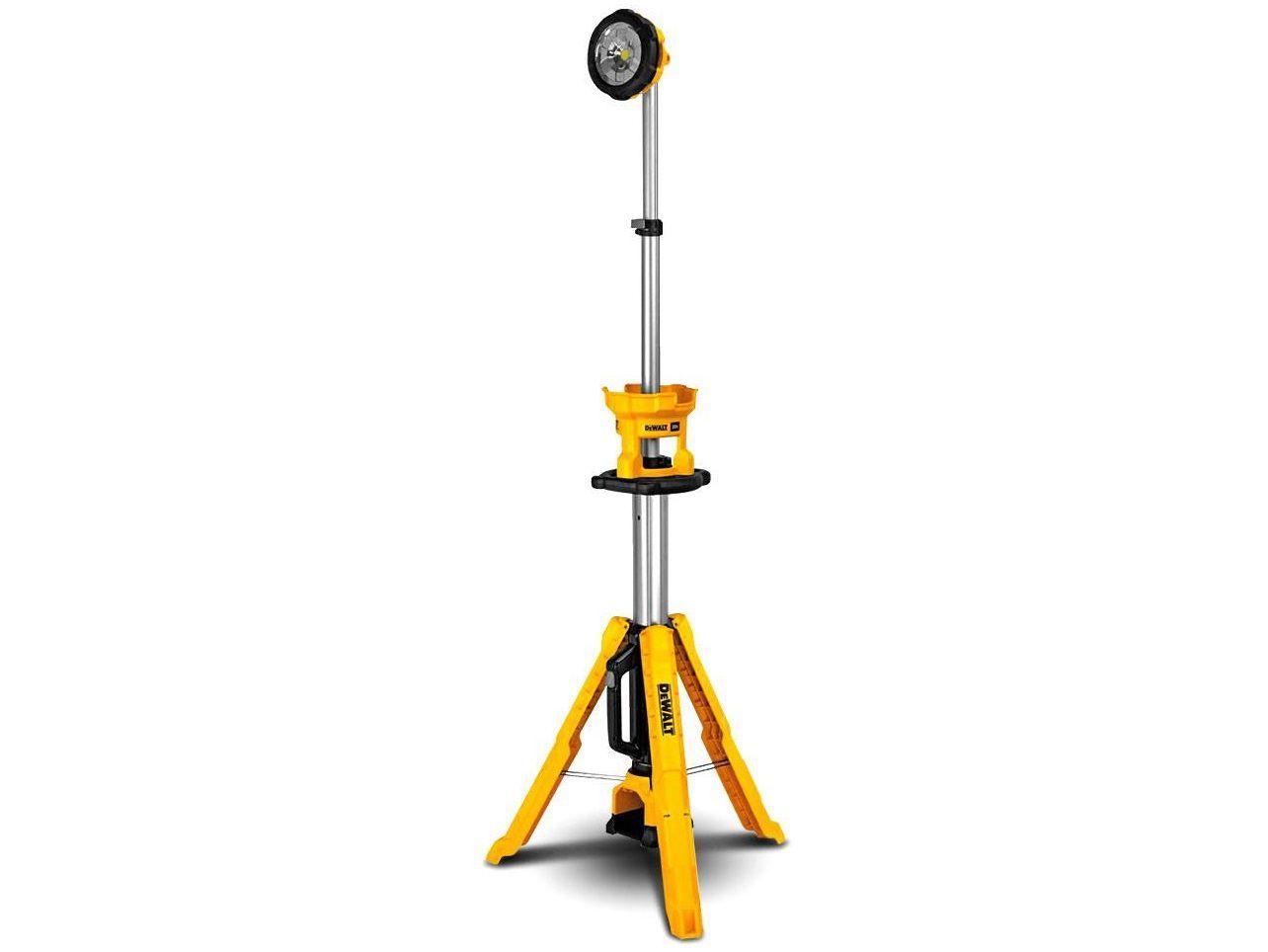 Aku svítilna se stativem DeWALT DCL079-XJ - 18V, 3000lm, 7.4kg, bez akumulátoru a nabíječky