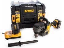 DeWalt DCD460T2-QW - 2x 54V/6.0Ah Flexvolt, 140Nm, 5.9kg, kufr, bezuhl. aku úhlová vrtačka