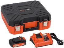 Sada nabíječky a akumulátoru PowerPlus POWDP9066 - 1x aku 20V/1.5Ah + nabíječka 20/40V