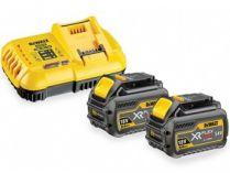 Sada nabíječky a akumuátorů DeWALT DCB118T2-QW - 2x 18/54V/6.0Ah Flexvolt + nabíječka