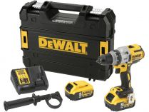 DeWALT DCD991T2-QW - 2x 18/54V/6.0Ah Flexvolt, 95Nm, 2.0kg, kufr, bezuhl. aku vrtačka bez příklepu