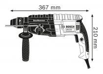 Vrtací kladivo SDS-Plus Bosch GBH 240 Professional - 790W, 2.7J, 2.8kg + DÁREK: Sklíčidlo + stopka vrtacího sklíčidla SDS v kufříku (0611272104) Bosch PROFI
