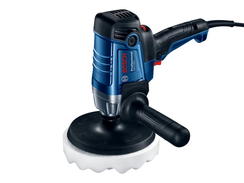Úhlová leštička Bosch GPO 950 Professional - 180mm, 950W, M14, 2.3kg, příslušenství (06013A2020) Bosch PROFI