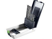 5-dílná sada příklepových vrtáků do kladiv SDS-Plus Festool SDS-Set D5-D12/7