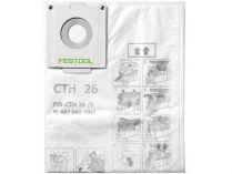 Bezpečnostní filtrační vak pro vysavače Festool CTH 48 - 3ks