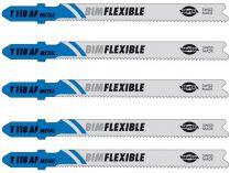 Pilový list Hawera T 118 AF, BIM-Flexible na tenké plechy - 5 ks (240503), pilový plátek do přímočaré pily