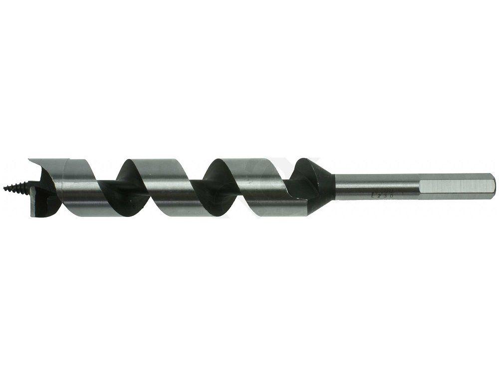 Hadovitý vrták do DŘEVA s šestihrannou stopkou Narex 28.0x385/460mm (00647600)