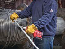 Bezuhlíkové aku hydraulické kleště na kabely Milwaukee M18 HCC-201C ACSR-SET - 18Vh, 53kN, bez akumulátoru a nabíječky (4933451198)