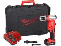 Milwaukee M18 HKP-201CA aku hydraulický děrovač - 1x 18V/2.0Ah, 60kN, kufr