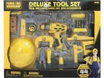 Dětské nářadí G21 Deluxe 44 dílů žluto-šedé
