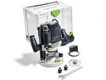 Horní frézka Festool OF 2200 EB-Plus - 2200W, 20/80mm, 7.8kg, kufr Systainer