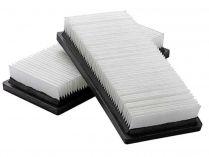 Filtrační patrona plochá pro vysavače Narex VYS 18, VYS 20-01, VYS 21-01, VYS 25-21, VYS 30-21 - 2ks
