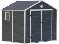 Plastový zahradní domek G21 PAH 523 - 188x278cm, šedý