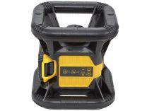 Sada aku nářadí DeWALT DCK374D1R-QW - rotační laser, detektor, stativ, 1x aku 18V/2.0Ah, v kufru