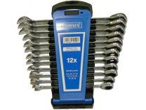 12-dílná PROFI sada ráčnových očkoplochých klíčů Narex 8-19mm, DIN3113, plastový ...