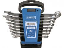8 dílná sada očkoplochých klíčů Narex DIN 3113 - 8 až 17mm, plastový držák