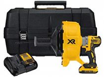 Aku čistič potrubí DeWALT DCD200D1-QW - 1x 18V/2.0Ah, 5.3kg, kufr
