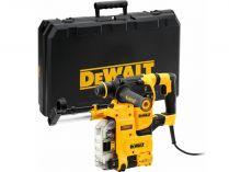 Vrtací a sekací kladivo DeWALT D25335K-QS - SDS-Plus, integrované odsávání, 950W, 3.5J, kufr