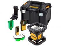 Aku rotační laser DeWALT DCE079D1G-QW - 1x 18V/2.0Ah, detektor, brýle, kufr