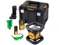 Aku rotační laser DeWALT DCE079NG-XJ - 18V, detektor, brýle, kufr, bez aku