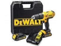 DeWALT DCD792D2B-QW - 2x 18V/2.0Ah, 70Nm, 1.55kg, kufr, bezuhl. aku vrtačka bez příklepu