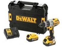 DeWALT DCD992P2B-QW - 2x 18V/5.0Ah, 95Nm, 2.17kg, kufr, bez aku, bezuhl. aku vrtačka bez příklepu