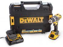 DeWALT DCD797D2B-QW - 2x 18V/5.0Ah, 70Nm, 1.77kg, kufr, bezuhl. aku vrtačka s příklepem