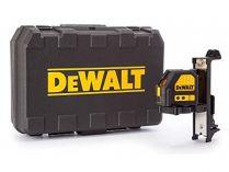 DeWALT DCE088NR-XJ - 10.8V, bez aku, 15m, držák na zeď, profi křížový laser