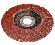 Lamelový brusný kotouč Magg, 125mm, hrubost 40, do úhlové brusky