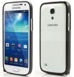 Hliníkový ochranný rámeček - Ochranný kryt Samsung S4 mini (Galaxy i9190/i9195) černý bumper