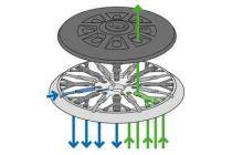 Brusný talíř Festool ST-STF D150/MJ2-M8-H-HT FUSION-TEC - 150 mm, tvrdost W-HT TVRDÝ (202460) pro brusky ETS 150, ETS EC 150, LEX 150 a WTS 150/7