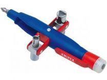 Univerzální klíč na rozvodné skříně klíč KNIPEX, kotlíkový, se zkoušečkou délka ramen: 155mm