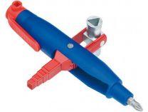 Univerzální klíč na rozvodné skříně klíč Profi-Key KNIPEX, kotlíkový, délka ramen: 145mm